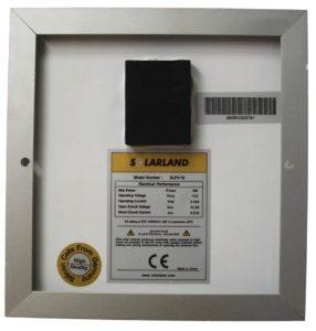 Solar Panel Back - 3 Watt SP-03