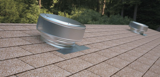 Aura Vent installed on roof