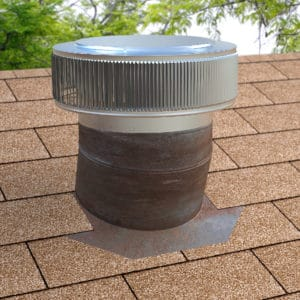 The Aura Gravity Vent A Roof Mounted Wind Turbine Replacement Cap