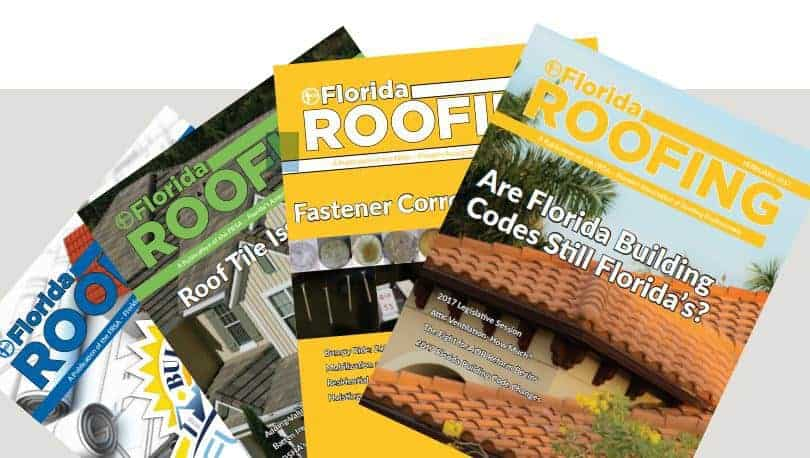 Florida Roofing Magazine featuring Active Ventilation Products