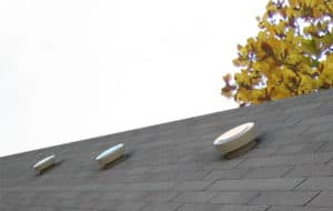 Static Vents on a Pitched Roof