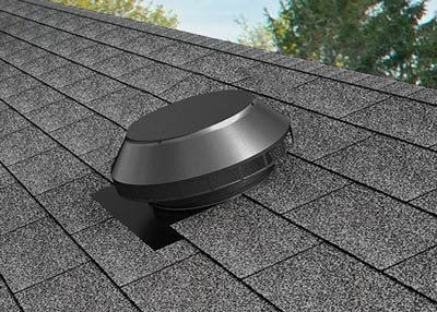 Pop Vent on shingle roof
