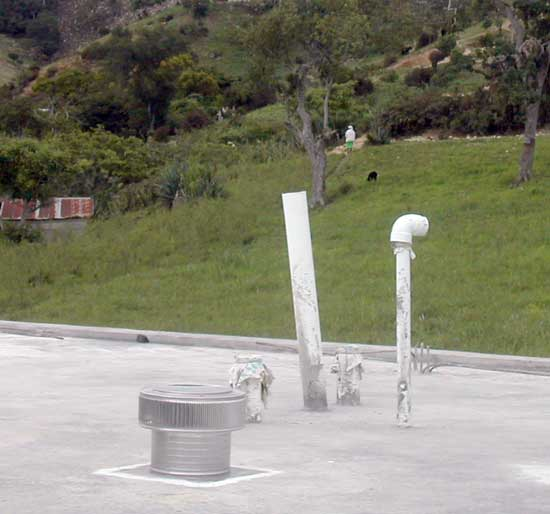 Aura Roof vents in Haiti
