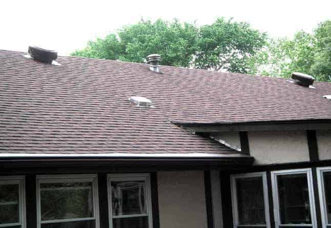 Aura Roof Vents Installed On A Home In St. Louis, Missouri
