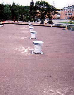 Nova Scotia Vent Installation on flat roof