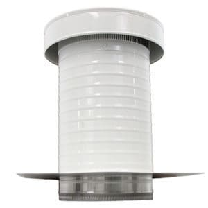 Commercial Roof Jack Vent Cap in White