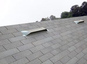 UV-45 Universal vents on a shingle roof