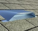 Off Ridge Dormer Roof Vent - The Universal Vent on an Asphalt Shingle Roof