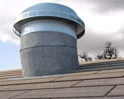 Retrofit Roof Vents - Pop Vent Retrofit on shingle roof
