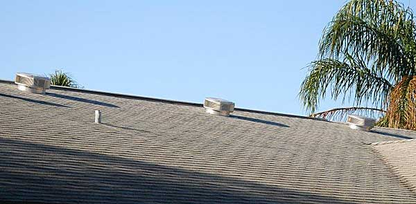 Florida roof after Hurricanes Charley, Frances, Ivan and Jeanne