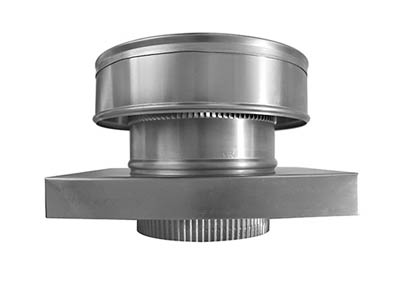 Roof Jack with curb mount flange