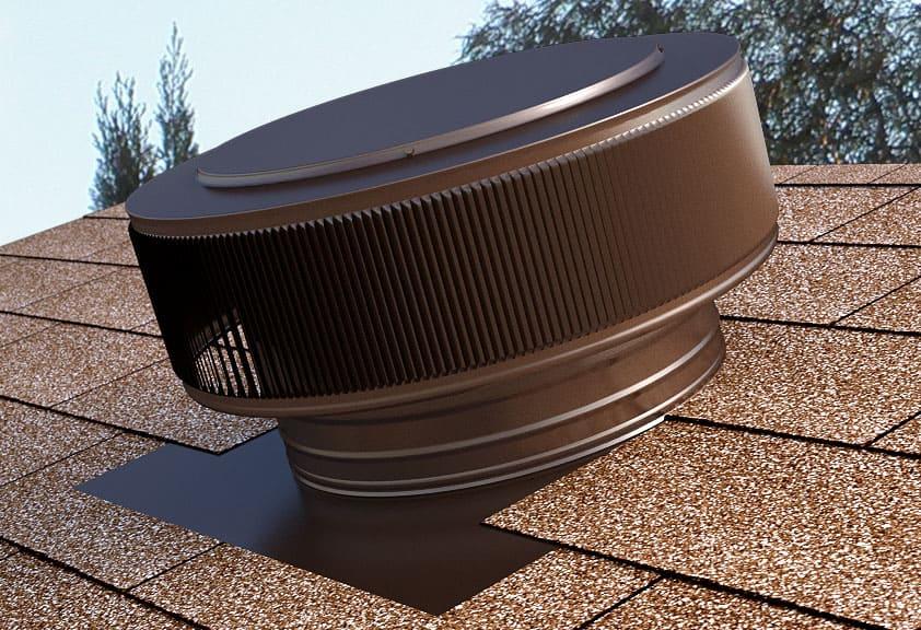 Gravity Roof Ventilator in Brown